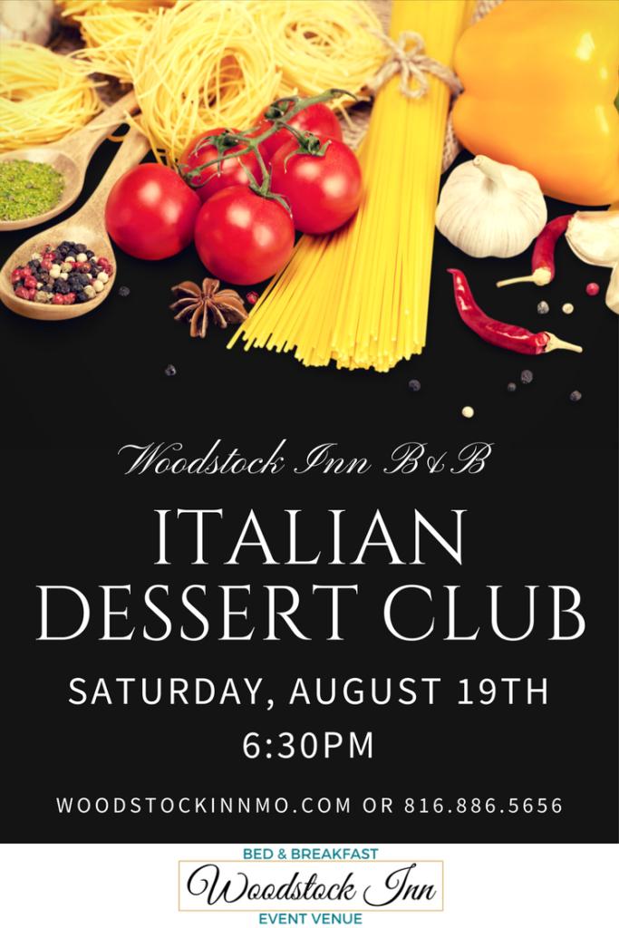 Italian Dessert Club