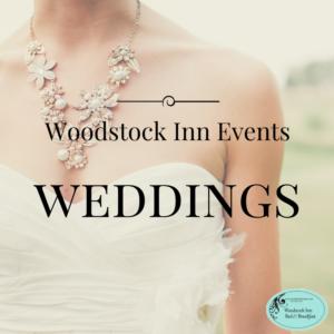 Woodstock Inn Weddings