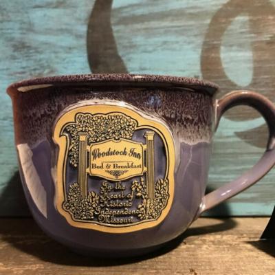 Woodstock Latte Mugs   Woodstock Inn B&B